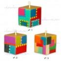 Vela Cubo cuadrado