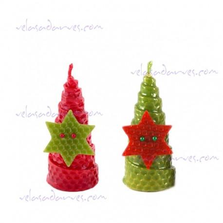 Navidad estrella 9 x 4 cm.
