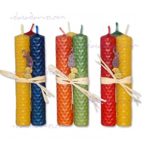 Atadillo 3 velas grande
