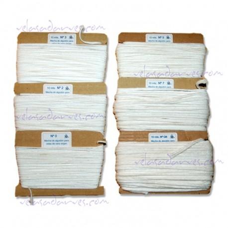 Mecha de algodón nº. 9