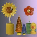 Velas de Panal Decorativas